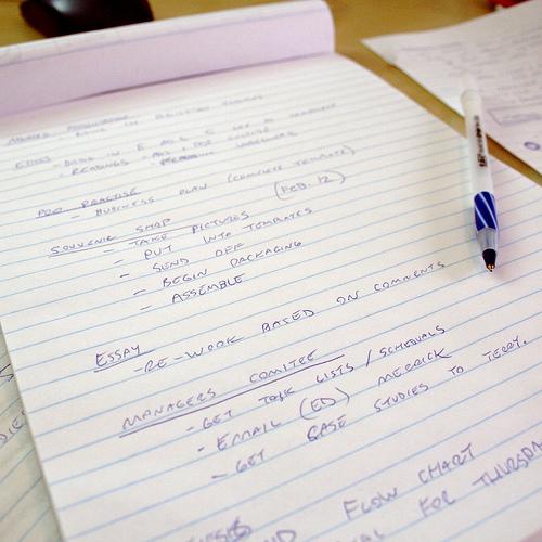 Papir og penn