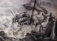 Båt i storm