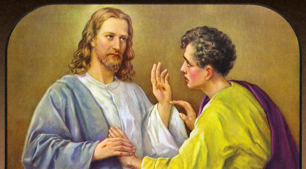 Jesus og Tomas