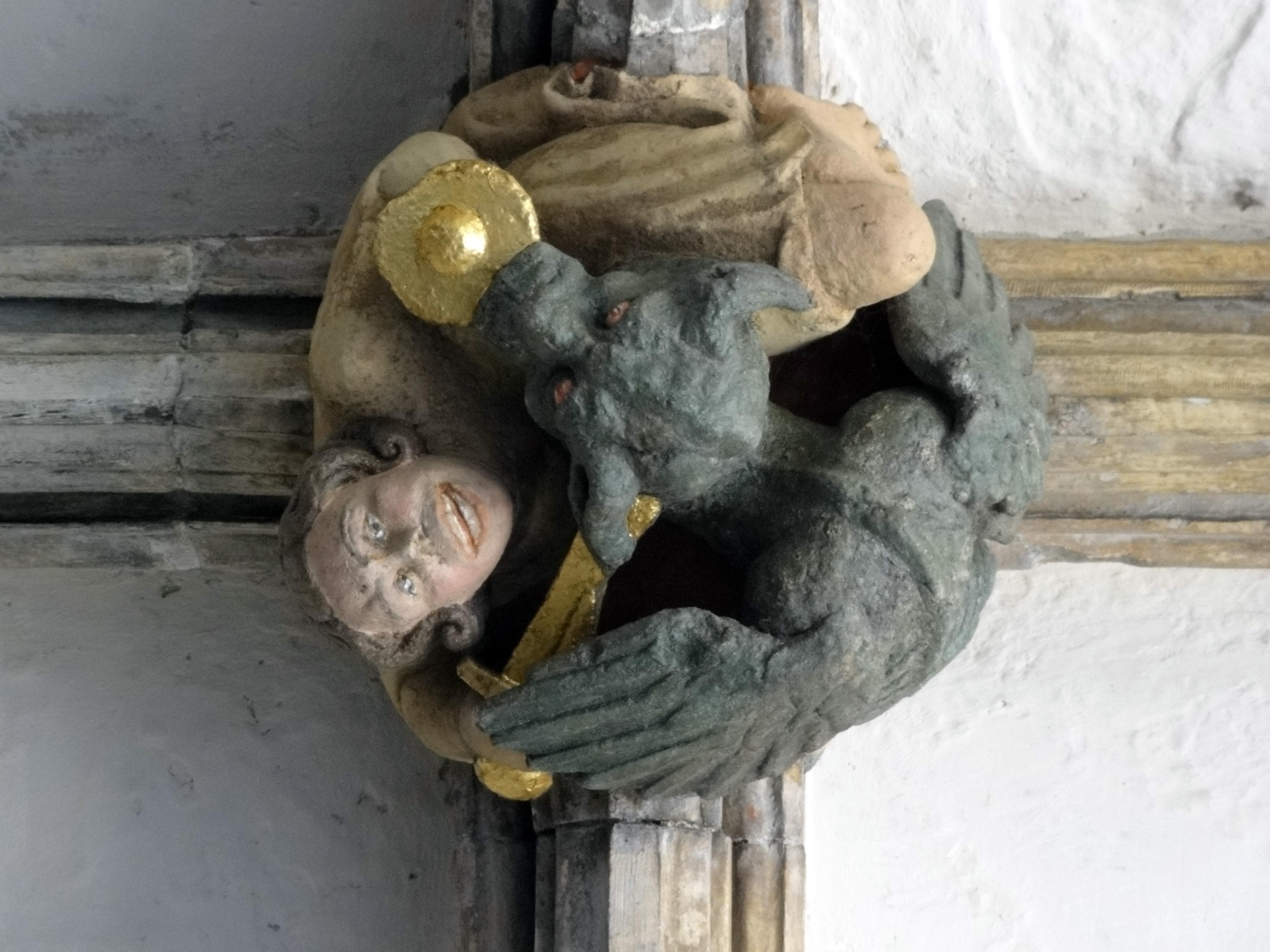 Norwich katedral detalj fra taket